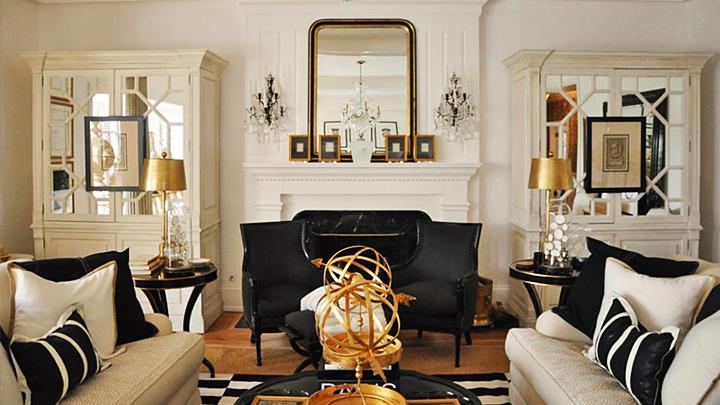 claves para decorar con dorado