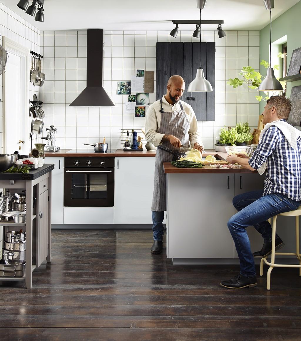Ikea Muebles De Cocina Catalogo Cocinas Blancas De Ikea De  # Muebles Cocina Ikea Faktum