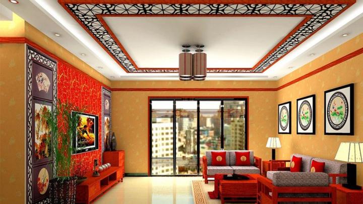 como decorar un salon de estilo chino