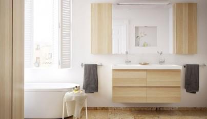 Espejos en la decoraci n - Ikea complementos bano ...