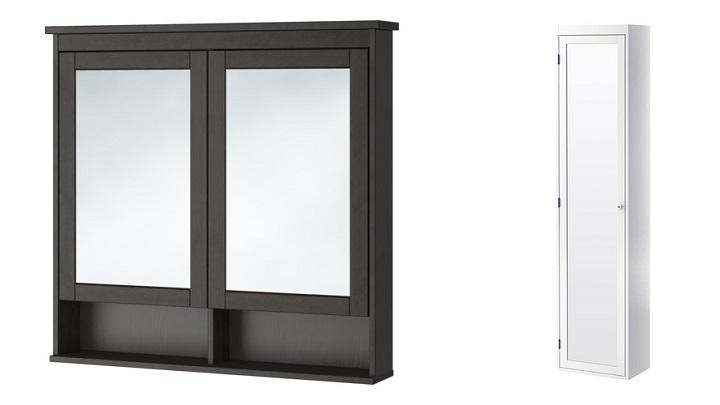 Espejos de ba o de ikea for Mueble cuadrados ikea