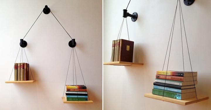 estanteria equilibrio