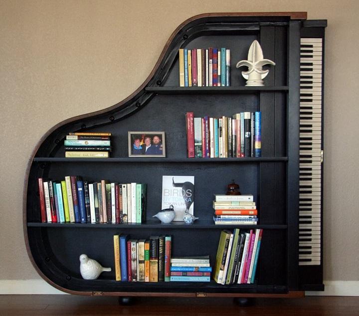 estanteria piano