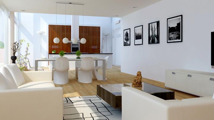 ideas para decorar el salon comedor