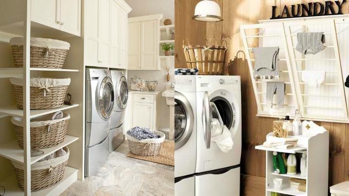 Cómo decorar la zona de plancha y lavado