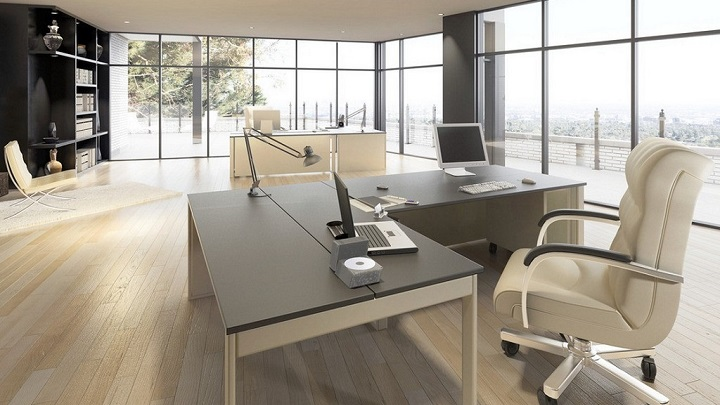 fotos de despachos y oficinas minimalistas