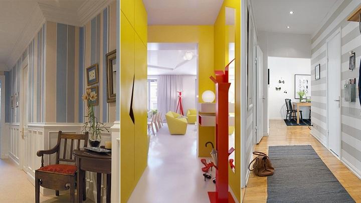 Colores recomendables para pintar el pasillo for Colores pasillos interiores