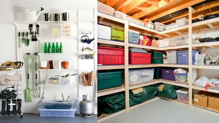 C mo ordenar garajes y trasteros - Muebles para trasteros ...