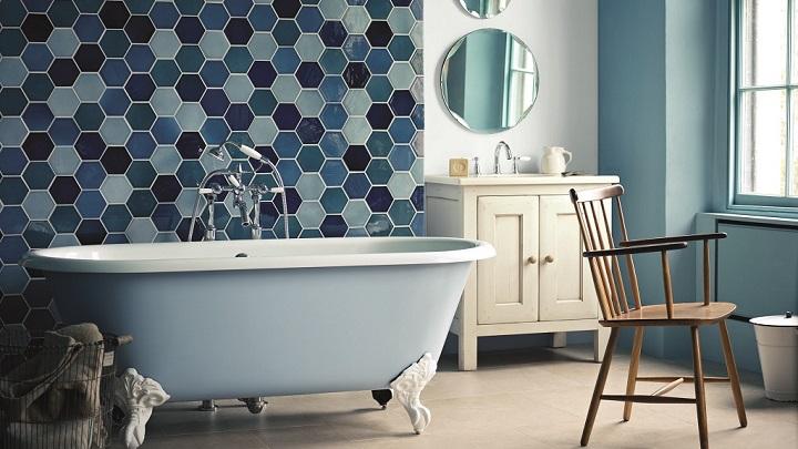 Azulejo Para Baño Color Azul:Fotos de baños de color azul