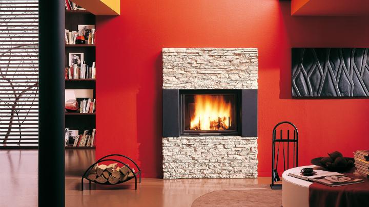 Las estufas y la decoraci n - Decoracion de chimeneas modernas ...