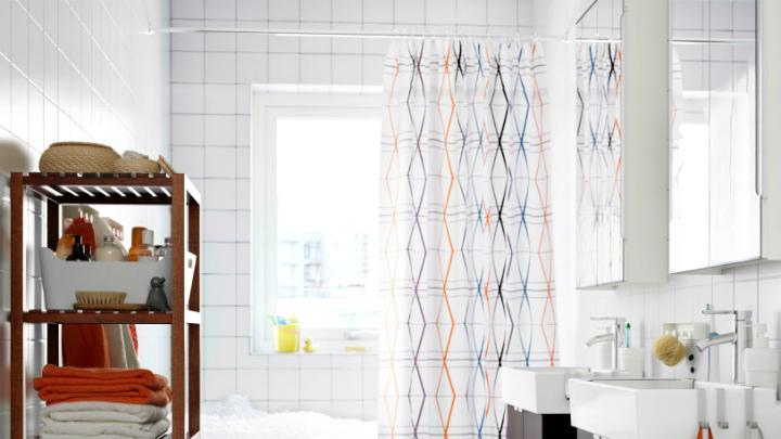 Tipos de barras para las cortinas de la ducha - Cortina bano curva ...