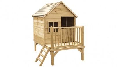 Como construir una casa de madera para niños paso a paso