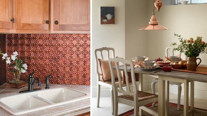 claves para decorar con cobre