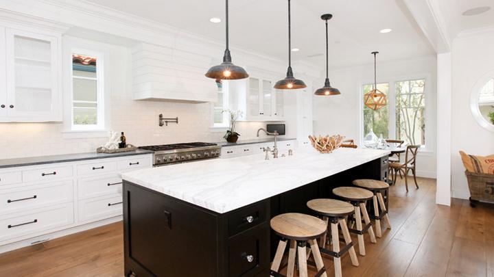 Claves para iluminar la cocina - Luces para cocina ...