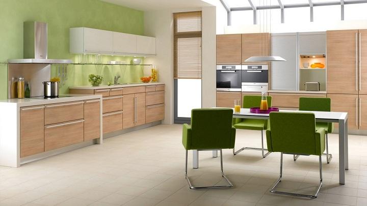 Los mejores colores para la cocina muebles modulares p p - Cocina de color ...