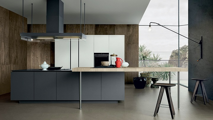 Los mejores colores para la cocina for Cocinas en dos colores