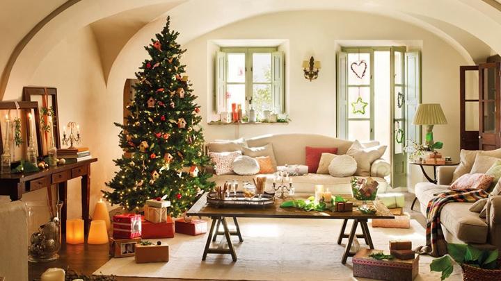 decoracion para una casa caliente en invierno