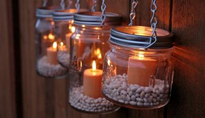 decoracion tarros cristal