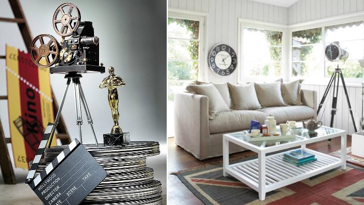 elementos decorativos cine