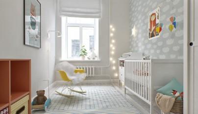 Fotos de habitaciones de beb s - Iluminacion habitacion bebe ...
