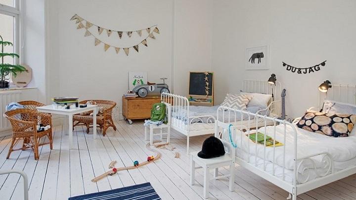 habitacion infantil estilo nordico foto