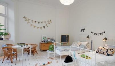 habitacion infantil estilo nordico14