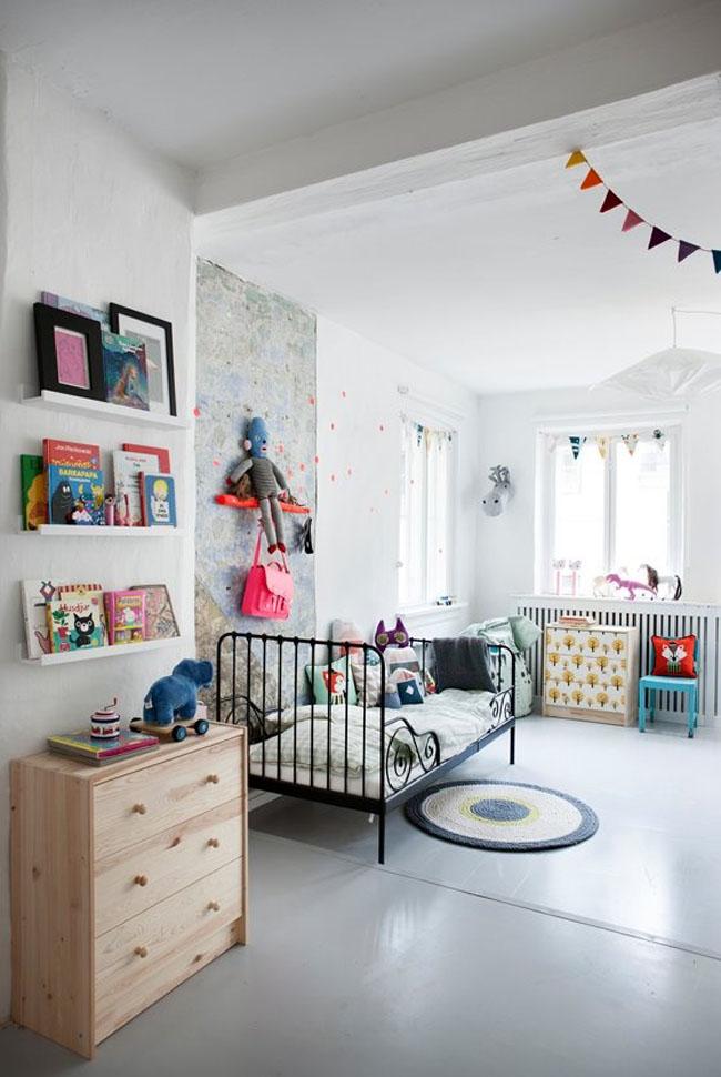 Habitacion infantil estilo nordico28 for Habitaciones infantiles estilo escandinavo