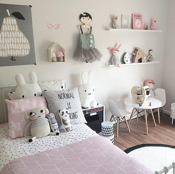 Habitacion infantil estilo nordico34 - Pared habitacion infantil ...