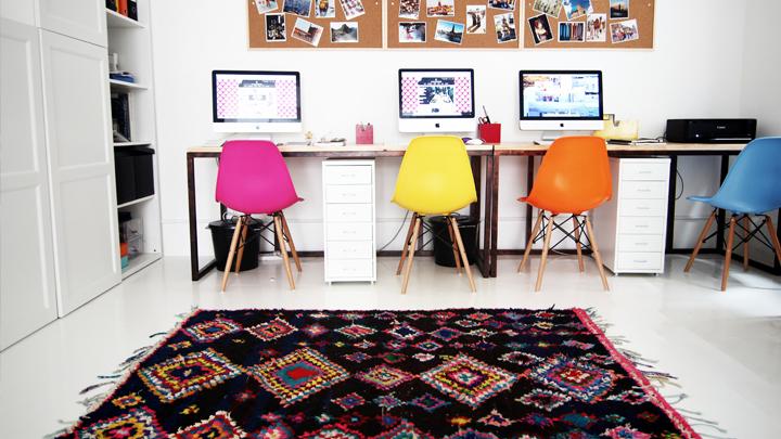 ideas para decorar con kilims