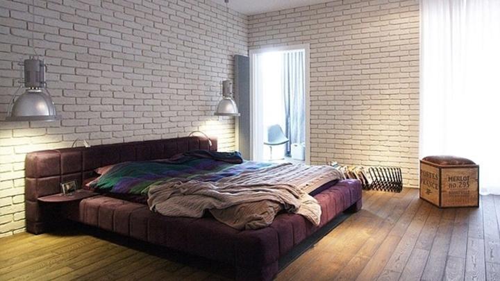 Decorablog revista de decoraci n - Habitaciones con papel pintado y pintura ...