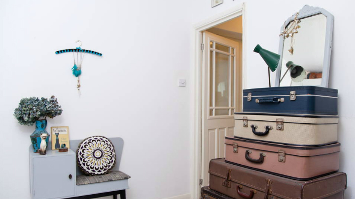 Apartamento Londres dormitorio