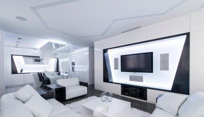 Decoracion estilo futurista 11