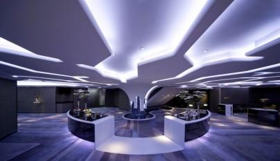 Decoracion estilo futurista 12