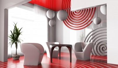 Decoracion estilo futurista 18