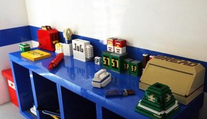 Decoracion piezas Lego 16