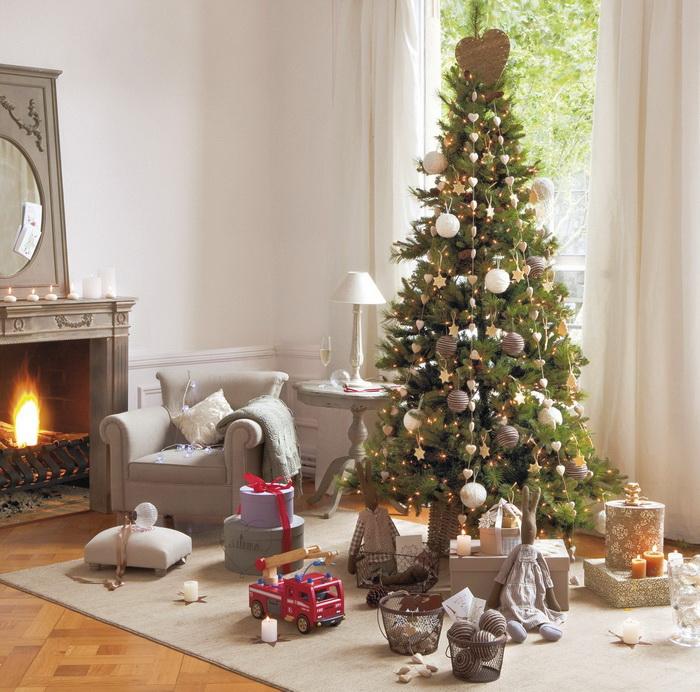 Decoracion salon navidad 2 - Navidad ideas para decorar ...