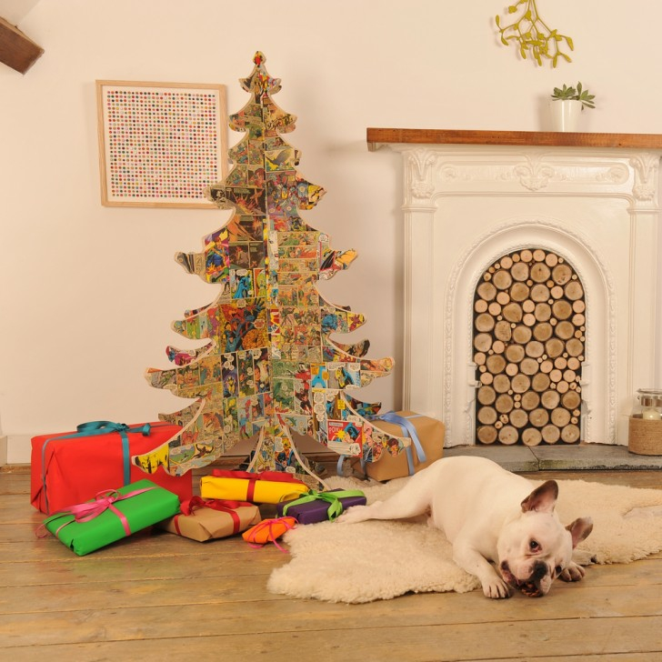 decoracion salon navidad 22