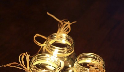 Reducing Decorative Costs With Cheap Floating Candles