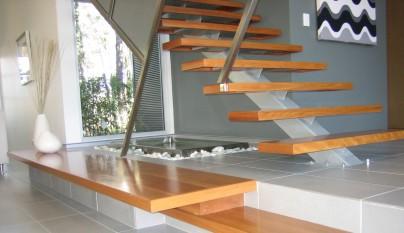 Wonderful Metal Stringer Stairs Modern Style