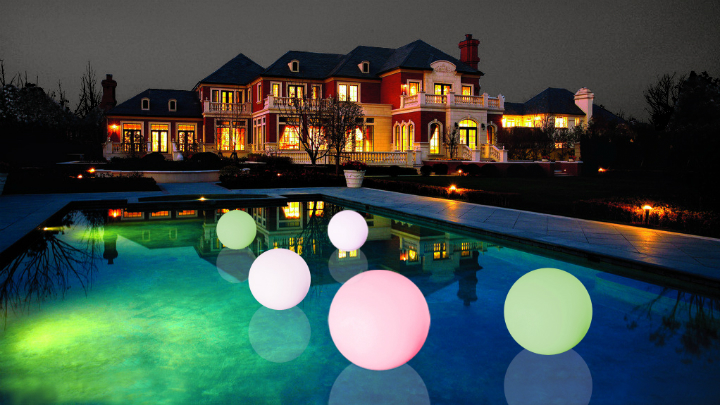 Ideas para incorporar las luces led a la decoraci n for Luces led para casas exterior