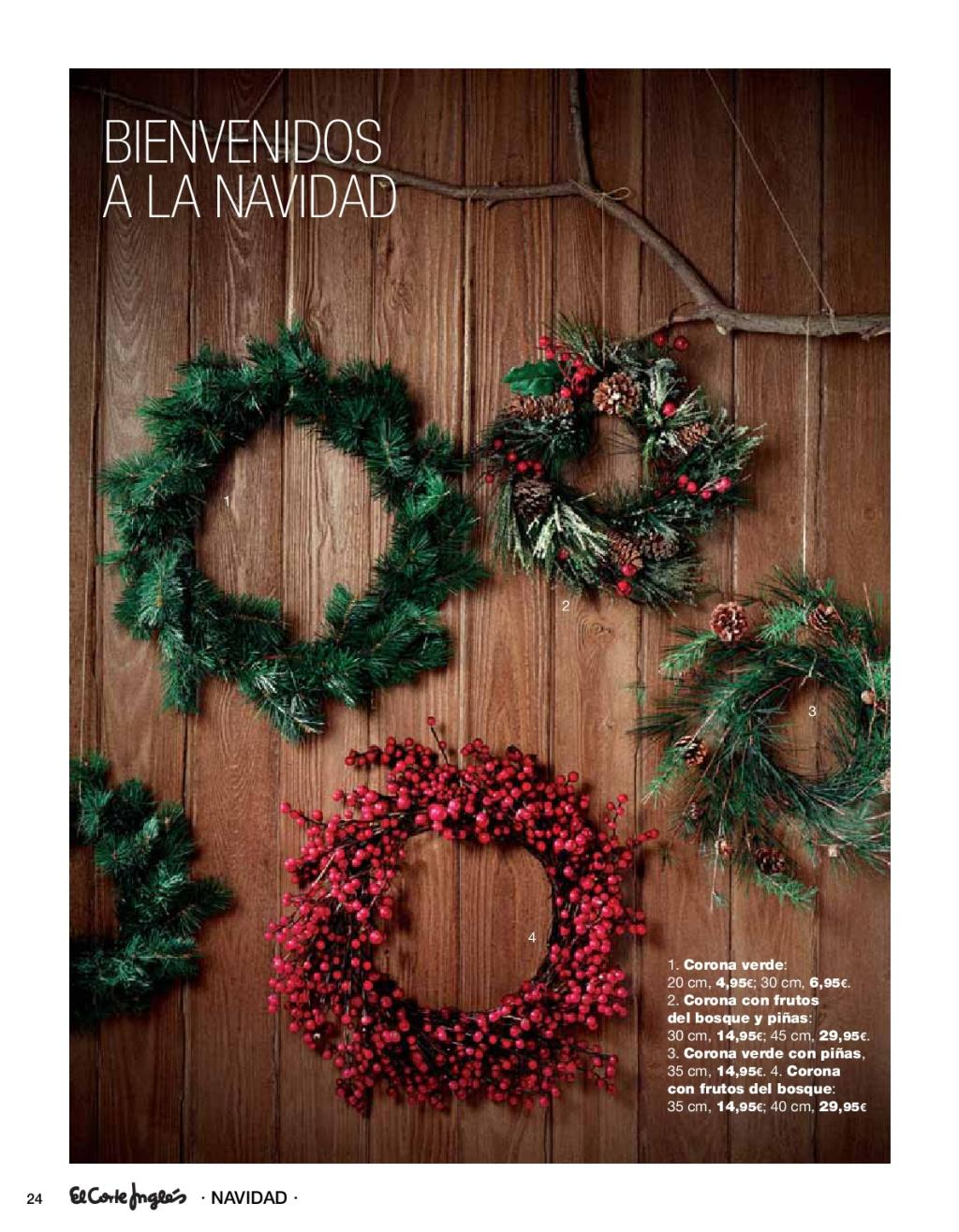 Navidad el corte ingles24 for Adornos de navidad el corte ingles