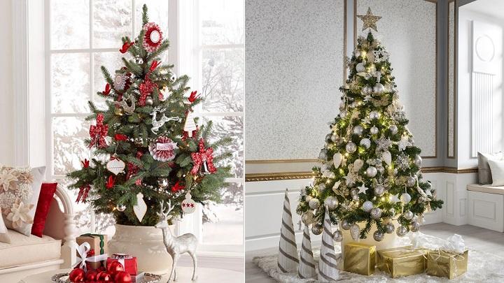 Fotos de rboles de navidad decorados for Imagenes de arbolitos de navidad adornados