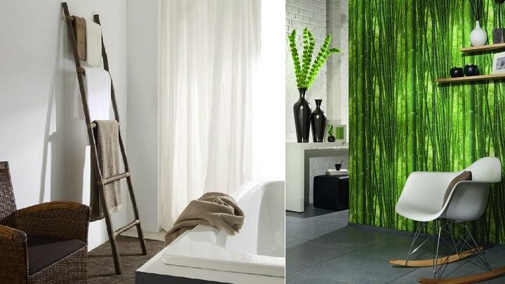 Decoraci n con ca as de bamb - Bambu para decorar ...
