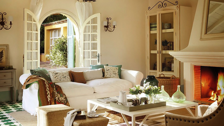 Decorar una casa de campo de estilo ingl s - Casa de campo decoracion interior ...