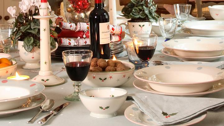consejos de protocolo en la mesa de navidad
