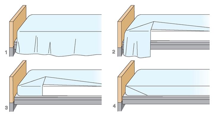 hacer la cama como un experto