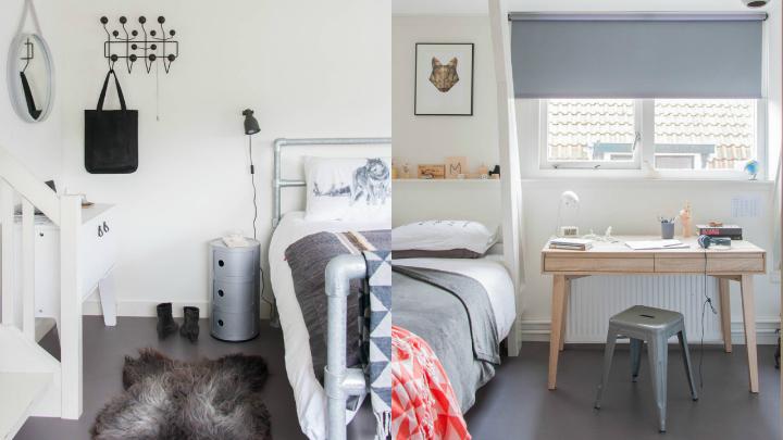 dormitorio apartamento nordico