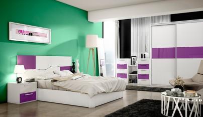 dormitorio morado13