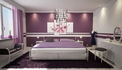 dormitorio morado18