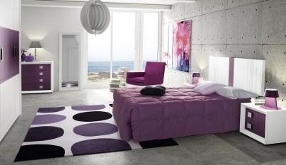 dormitorio morado24